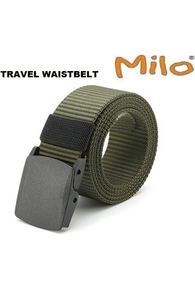 Milo Travel Waıstbelt Haki