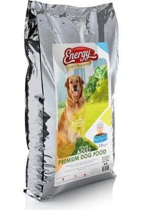 Dog Food Energy Kuzu Etli Pirinçli Yetişkin Köpek Maması 15kg