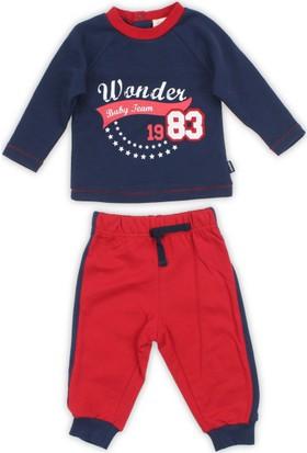 Modakids Wonder Kids Erkek Bebek Eşofman Takımı 010-2209-012