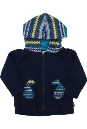 Modakids Wonder Kids Erkek Bebek Kapşonlu Polar Ceket 010-2211-012