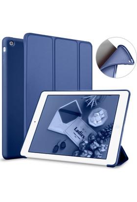 Elx Apple iPad Air 1 Smart Tablet Kılıfı + 9H Nano 330 Derece Bükülebilen Ekran Koruyucu + Kalem