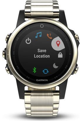 Garmin Fenix 5S - Sapphire Metal Kayış Akıllı Saat
