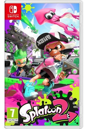 Splatoon 2 Nintendo Switch Oyun