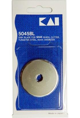 Kaı Rs-45 Yuvarlak Bıçak Rulet Disk Kesici Yedek Bıçağı ( 5045Bl 45 Mm )