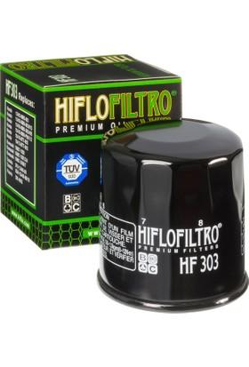 Hiflo HF303 Premium Metal Motosiklet Yağ Filtresi TUV Onaylı