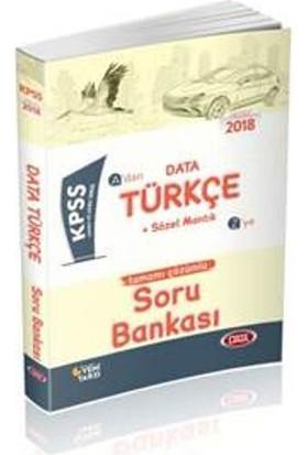 Data 2018 Kpss Türkçe Soru Bankası