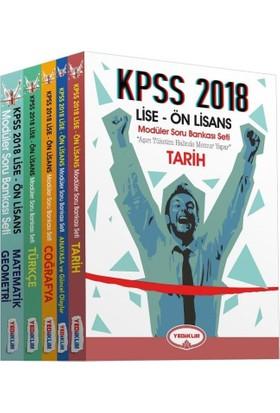 Yediiklim Yayınları 2018 Kpss Lise Ön Lisans Modüler Soru Bankası