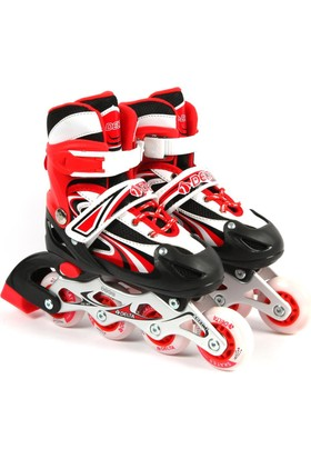 Delta FRC 900 Kırmızı & Siyah Inline Skate Alüminyum Paten