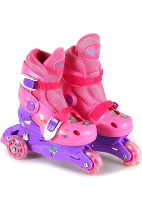 Delta 0109 Işıklı Tekerlekli & Ayarlanabilir Numaralı Çocuk Pateni