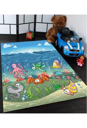 Bebişim Denizaltı Çocuk Odası Halısı
