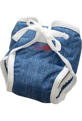 Baby Neo Yıkanabilir Mayo Bebek Bezi Desenli Blue Jean 15 - 20