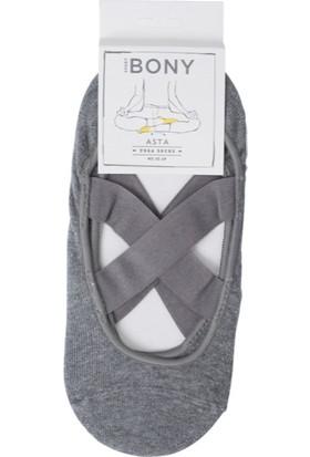Katia Yoga Çorabı Gri Melanj