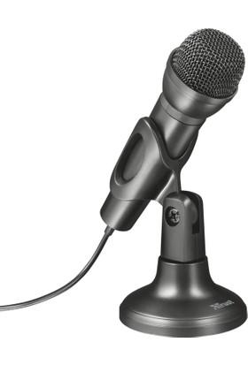 Trust 21964 Ziva Stüdyo El Tipi Mikrofon 3.5 mm Jack Girişli