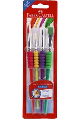 Faber-Castell Fırça Seti Soft Touch 4 Lü
