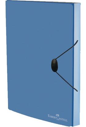 Faber Castell Toplantı Dosyası Metalik Mavi