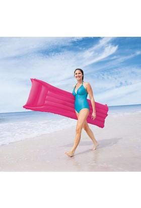 Şişme Deniz Yatağı Havuz Fuşya 44007