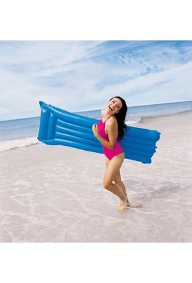 Şişme Deniz Yatağı Havuz Mavi 44007