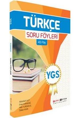 Farklı Sistem Ygs Türkçe Soru Föyleri (45 Föy)