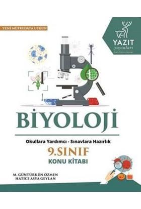 Yazıt 9. Sınıf Biyoloji Konu Kitabı
