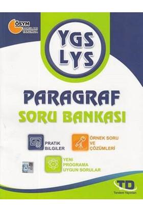 Tandem Ygs-Lys Paragraf Soru Bankası