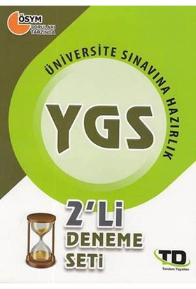 Tandem Ygs 2'li Deneme