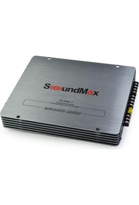 Soundmax SX-4600- 2600W -4 Kanallı 4X60W RMS Köprülenebilir Oto Ses Anfisi