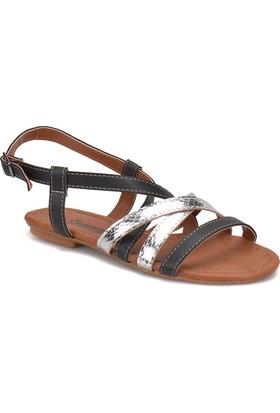 Carmens Art03 Siyah Kadın Sandalet