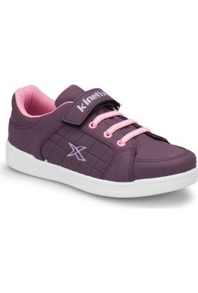 Kinetix Lenko Pu Açık Mor Lila Kız Çocuk Ayakkabı