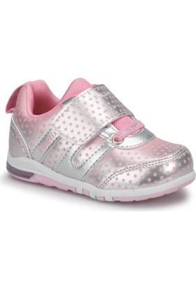 Kinetix Meren Gümüş Pembe Kız Çocuk Ayakkabı