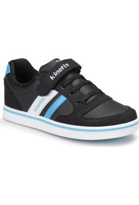 Kinetix Pontech Pu Siyah Mavi Beyaz Erkek Çocuk Ayakkabı