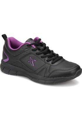 Kinetix Robus Pu W Siyah Mor Kadın Fitness Ayakkabısı