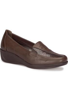 Polaris 5 Nokta 72.110008.Z Kahverengi Kadın Anne Ayakkabısı