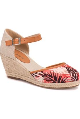 Polaris 61.308469.Z Kırmızı Kadın Sandalet