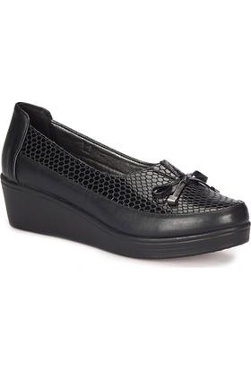 Polaris 72.158073.Z Siyah Kadın Ayakkabı