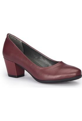 Polaris 72.310262.Z Bordo Kadın Ayakkabı