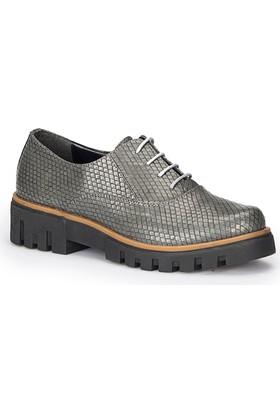 Polaris 72.310338.Z Gri Kadın Ayakkabı