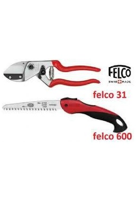 Felco 31 Budama Makası ve Felco 600 Budama Testeresi