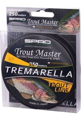 Spro Tm Tremarella Mono 0.22 mm 3.8 Kg 250 M 1/1