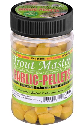 Spro Tm Garlic Pellets Yellow 60Gr Alabalık Yemi