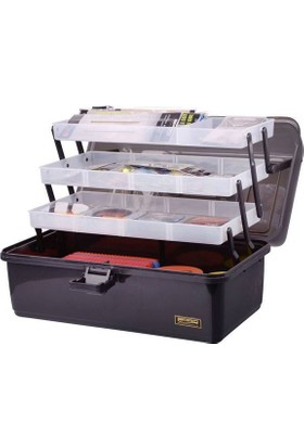 Spro Strategy Tackle Box 3-Tray Xl 370X220X200 mm