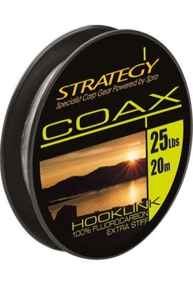 Spro Strategy Coax Fluorocarbon 15 Lb 20 M 1/1
