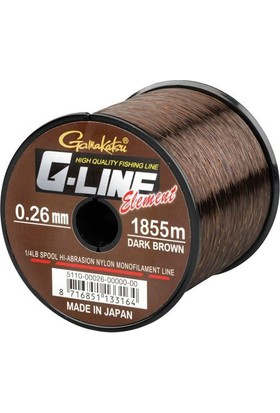 Spro G-Line Element 0.30 mm 6.8 Kg Dark Brown Bobin Misina