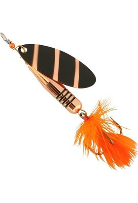 Abu Garcia Zixten Spinner 7Gr Zebra/Copper Kaşık Yem