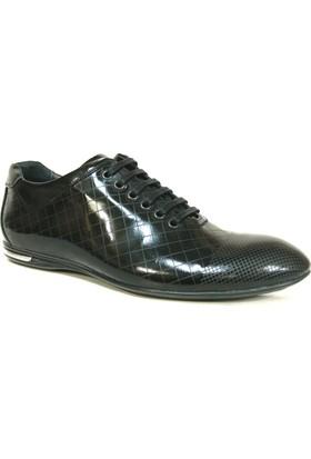 Fierro 773 Siyah Bağcıklı Casual Erkek Ayakkabı