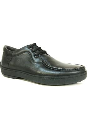 Fierro Siyah 4 Mevsim Klasik Erkek Ayakkabı