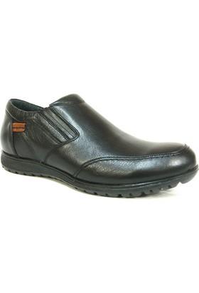 Fierro 878 Siyah Bağcıksız Erkek Ayakkabı