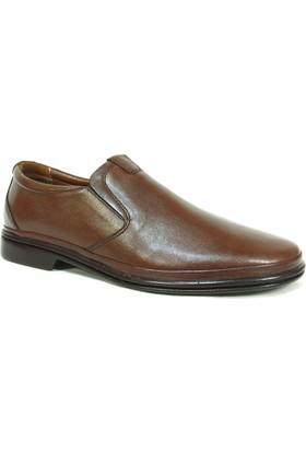 Fierro 926 Kahve Bağcıksız Comfort Erkek Ayakkabı