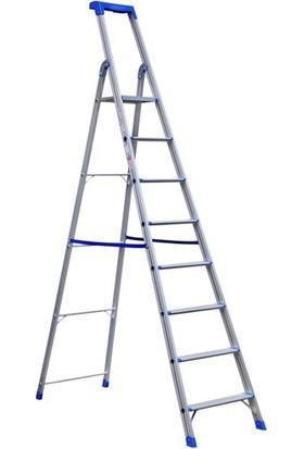 Çağsan 7+1 Profesyonel Alüminyum Portatif Merdiven