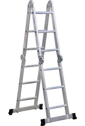Çağsan 3,4 m. 12 Basamaklı Çok Amaçlı Merdiven
