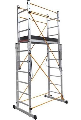 Çağsan 2X2 M. Çok Amaçlı Alüminyum İskele-Merdiven
